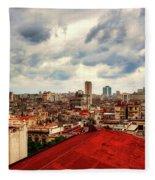 Clouds Over Havana Fleece Blanket