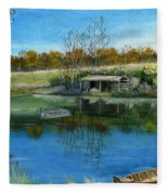 Cole Hill Pond Fleece Blanket
