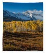 Colorado Fall II Fleece Blanket