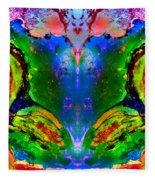 Colorful Life Fleece Blanket