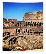 Colosseum Interior Fleece Blanket