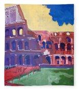Colosseum Fleece Blanket