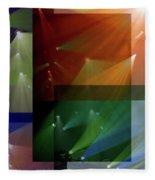 Coloured Lights II Fleece Blanket