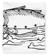 Constellation: Pisces Fleece Blanket