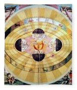 Copernican Universe, 1660 Fleece Blanket