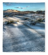 Coquina Beach, Cape Hatteras, North Carolina Fleece Blanket