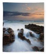 Coral Cove Dawn Fleece Blanket