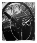 Cord Phaeton Dashboard Fleece Blanket