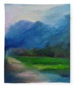 Country Road 03 Fleece Blanket