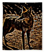 Coyote Fleece Blanket