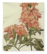 Crossandra Fleece Blanket