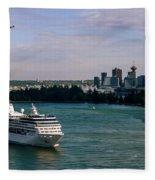 Cruise Ship 5 Fleece Blanket