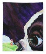 Cupcake Kid Fleece Blanket