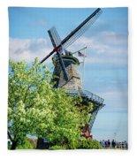 De Zwaan Windmill Fleece Blanket