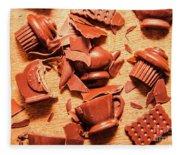 Death By Chocolate Fleece Blanket