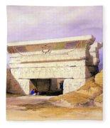 Dendera Temple Complex, 1938 Fleece Blanket