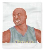 Derek Fisher Fleece Blanket