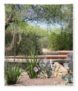 Desert Garden Fleece Blanket