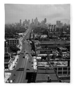 Detroit 1942 Fleece Blanket