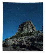 Devil's Tower Fleece Blanket