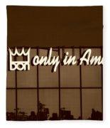 Don King Only In America Fleece Blanket