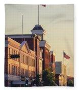 Downtown Beloit Fleece Blanket