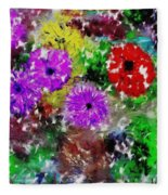 Dream Garden II Fleece Blanket