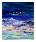Dusk Imagining Fleece Blanket