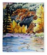 East Clear Creek Fleece Blanket