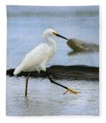 Egret Step Fleece Blanket