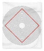 Ehrenstein Illusion Fleece Blanket