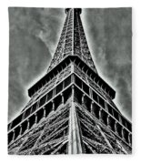 Eiffel Tower Fleece Blanket