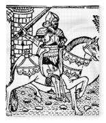 El Cid Campeador (c1040-1099) Fleece Blanket
