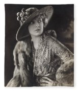 Elsie Janis (1889-1956) Fleece Blanket