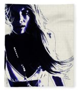 Elyse Taylor Fleece Blanket