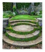 English Garden Fleece Blanket