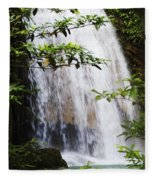 Erawan National Park Fleece Blanket