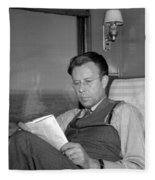 Ernest Lawrence, American Physicist Fleece Blanket