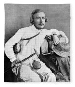 Ernst Haeckel, Naturalist And Artist Fleece Blanket