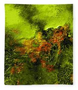 eruption II Fleece Blanket