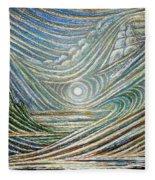 Ethereal Hawaii Fleece Blanket