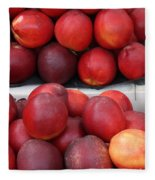 European Markets - Nectarines Fleece Blanket