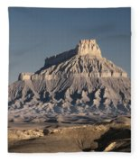 Factory Butte 0562 Fleece Blanket