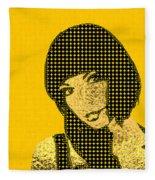 Fading Memories - The Golden Days No.3 Fleece Blanket