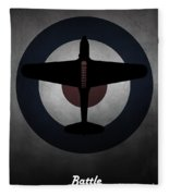 Fairey Battle Fleece Blanket