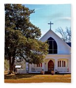 Fairhope Sacred Heart Church Fleece Blanket