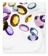 Falling Gems Fleece Blanket