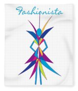 Fashionista Fleece Blanket