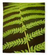 Fern Pattern Fleece Blanket