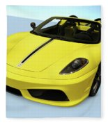Ferrari 16m Scuderia Spider Fleece Blanket